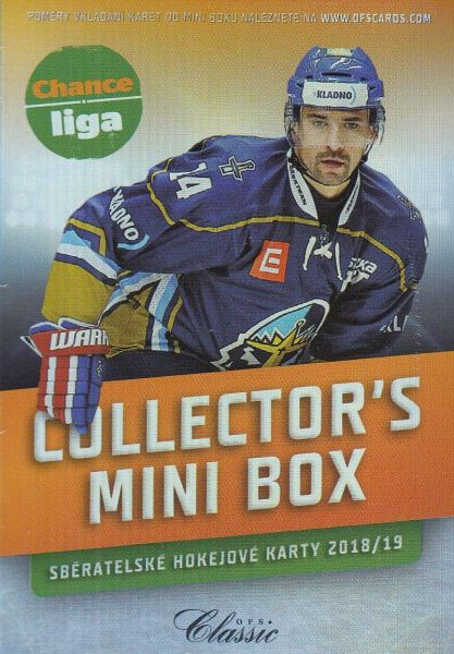 2018-19 OFS Chance Liga Collector´s Mini Box
