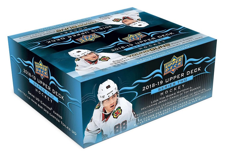 2018-19 UD Series 2 Hockey Retail Box