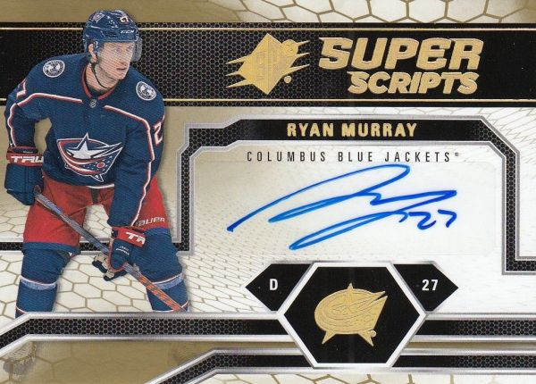 AUTO karta RYAN MURRAY 18-19 SPx Superscripts číslo SS-RM