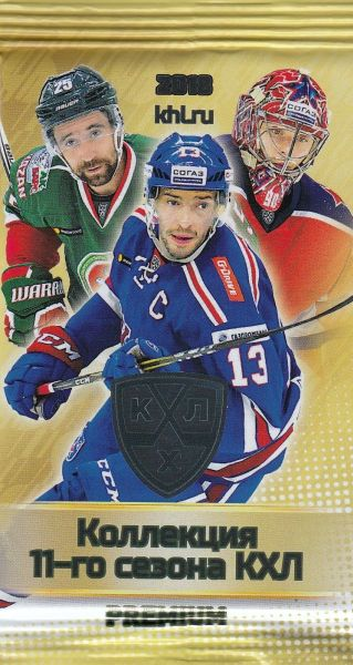 2018-19 KHL Collection 11th Season Premium Hockey Hobby Balíček