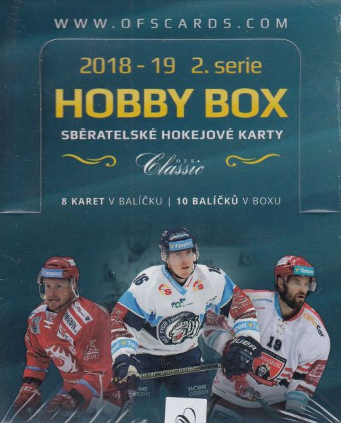 2018-19 OFS Classic Series 2 Hockey Hobby Box