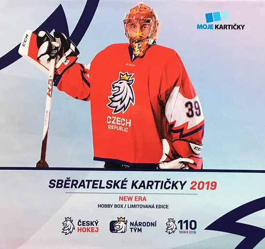 2018-19 Czech Ice Hockey Team MK NEW ERA Hobby Box