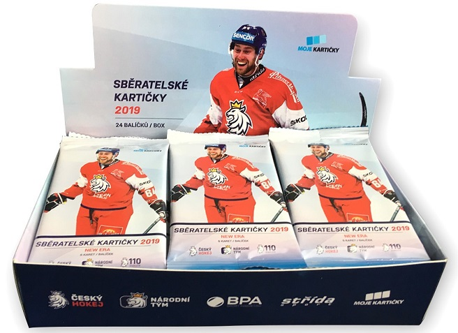 2018-19 Czech Ice Hockey Team MK NEW ERA Retail Box