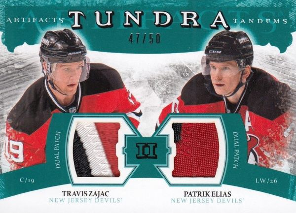 patch karta ELIÁŠ/ZAJAC 11-12 Artifacts Tundra Tandems Emerald /50