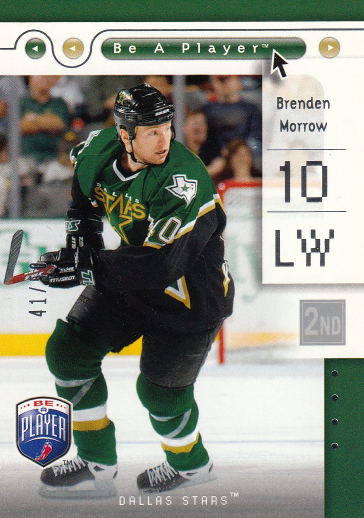 paralel karta BRENDEN MORROW 05-06 BAP Second Period /50
