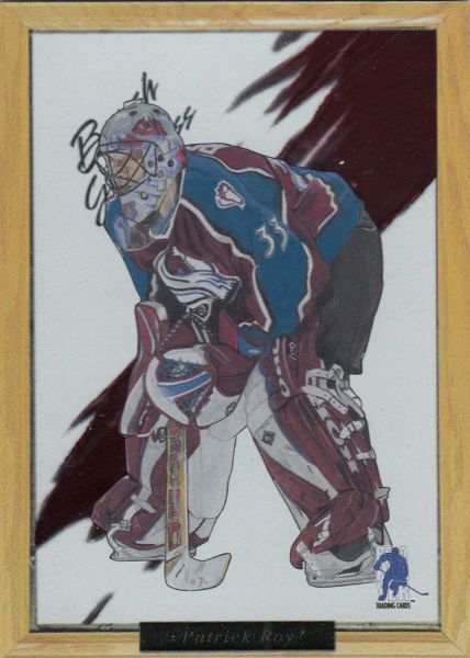 insert karta PATRICK ROY 03-04 BAP Brush with Greatness číslo 25