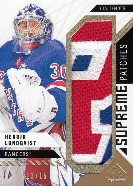 patch karta HENRIK LUNDQVIST 18-19 SPGU Supreme Patches /15