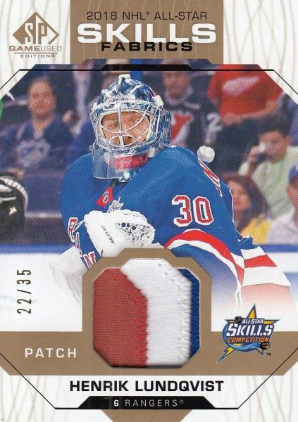 patch karta HENRIK LUNDQVIST 18-19 SPGU All-Star Skills Fabrics /35