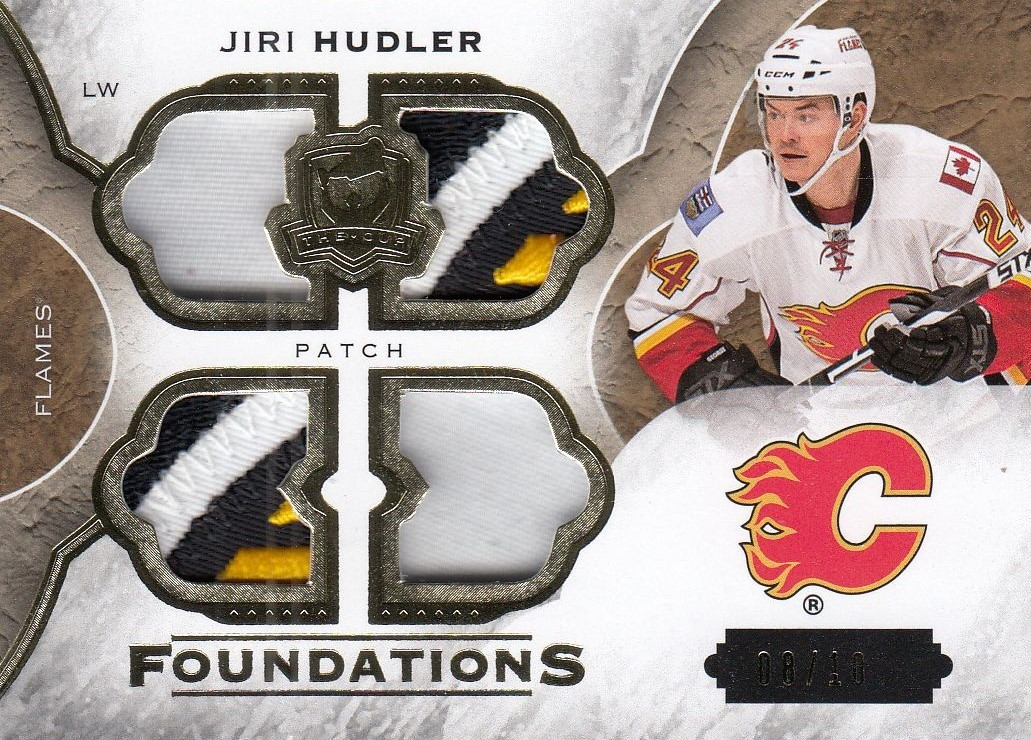patch karta JIŘÍ HUDLER 15-16 UD The Cup Foundations /10