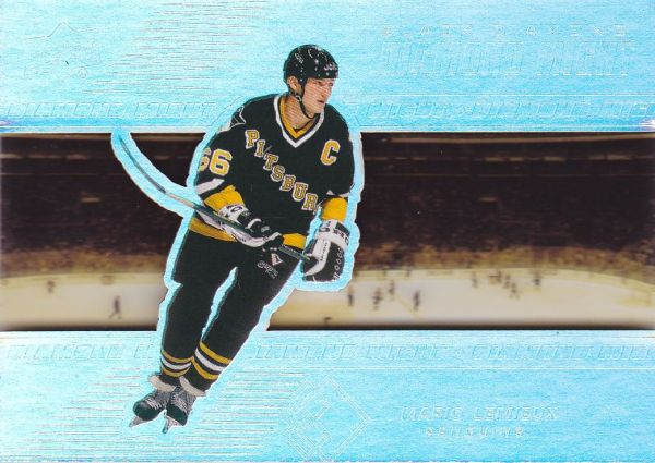 insert karta MARIO LEMIEUX 18-19 Black Diamond Diamond Might /99