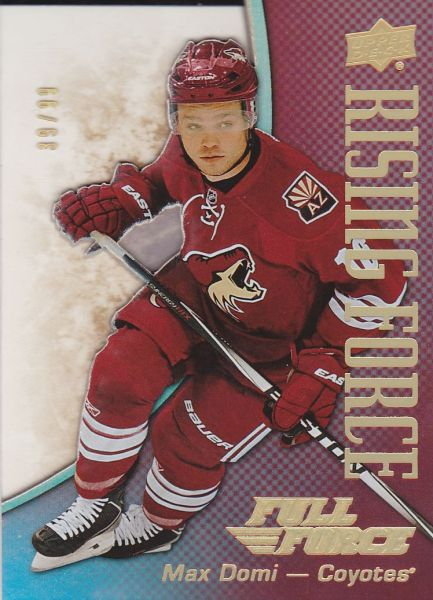 insert karta MAX DOMI 15-16 Full Force Rising Force Gold /99