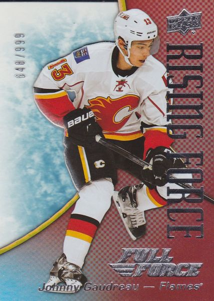 insert karta JOHNNY GAUDREAU 15-16 Full Force Rising Force /999
