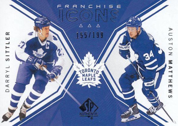 insert karta SITTLER/MATTHEWS 18-19 SP Authentic Franchiese Icons /199