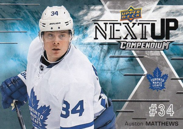 insert karta AUSTON MATTHEWS 17-18 Compendium Next Up číslo NU-SP