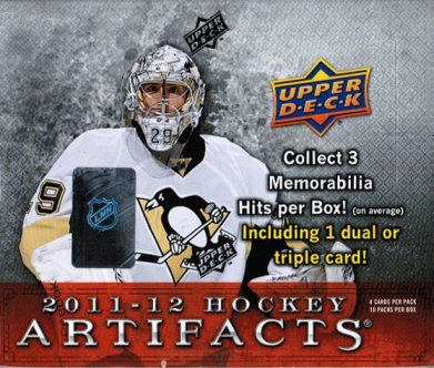 2011-12 UD Artifacts Hockey Hobby Box