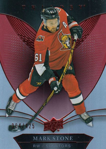 paralel karta MARK STONE 18-19 Trilogy Red /425