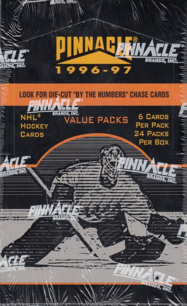1996-97 Pinnacle Hockey Value Box