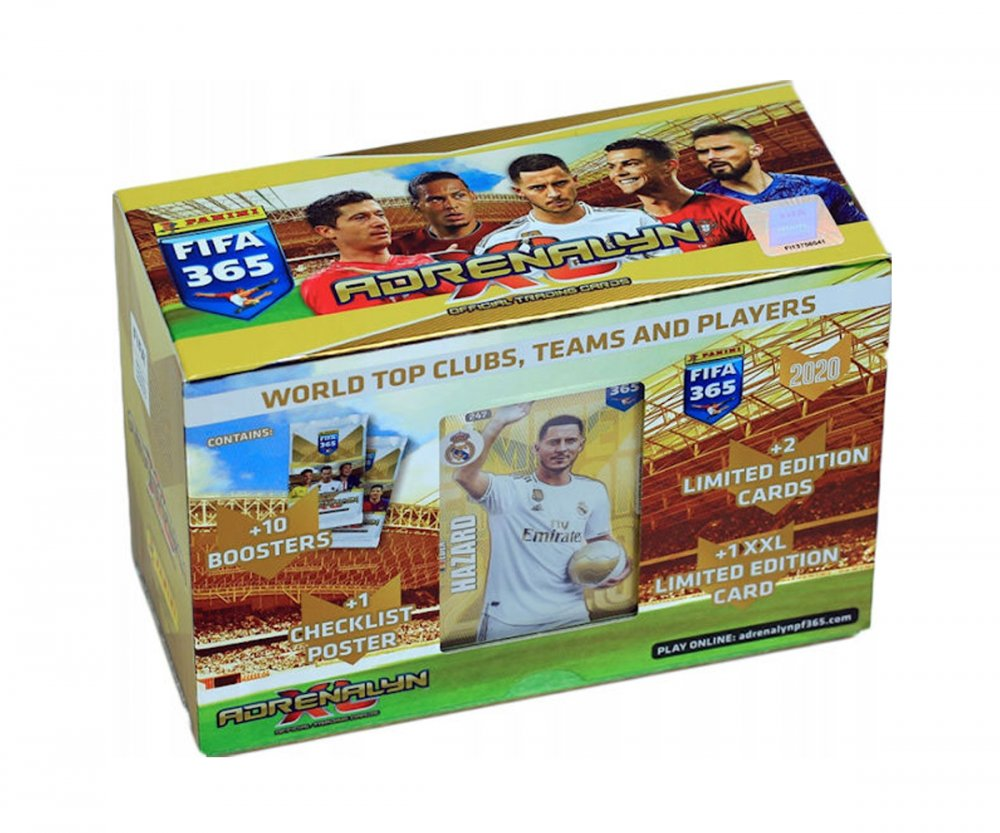 2020 Panini Adrenalyn XL FIFA 365 Gift Box