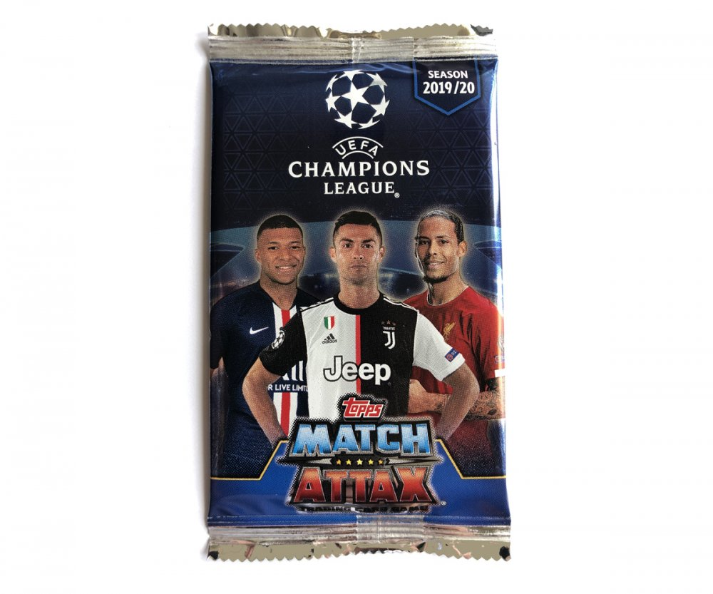 2019-2020 Topps Match Attax Champions League Balíček