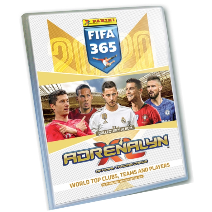 Album Panini Adrenalyn XL FIFA 365 2020