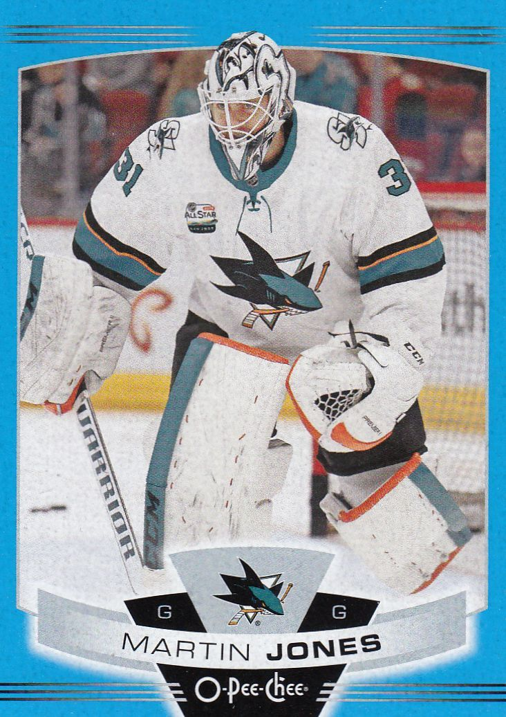 paralel karta MARTIN JONES 19-20 OPC Blue Border číslo 373