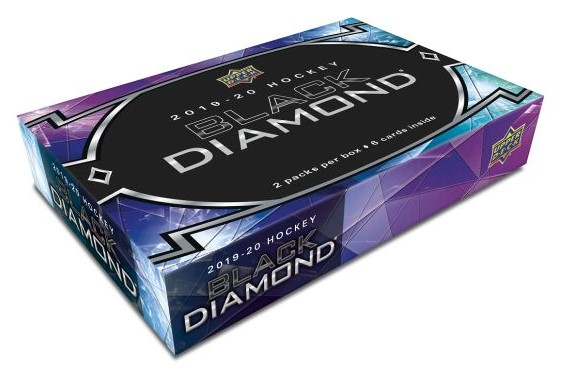 2019-20 UD Black Diamond Hockey Hobby Box