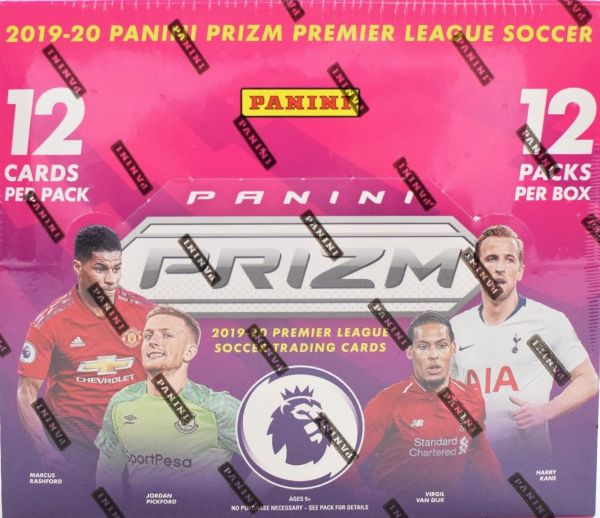 2019-2020 Panini Prizm Premier League Soccer Box