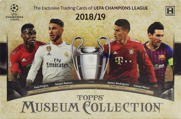 2018-19 Topps UEFA Champions League Museum Collection Soccer Hobby Box