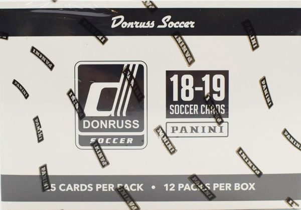 2018-19 Donruss Soccer Jumbo Box