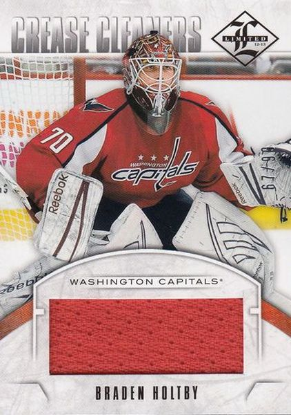 jersey karta BRADEN HOLTBY 12-13 Limited Crease Cleaners /99