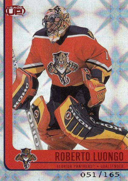 paralel karta ROBERTO LUONGO 01-02 Heads Up Red /165