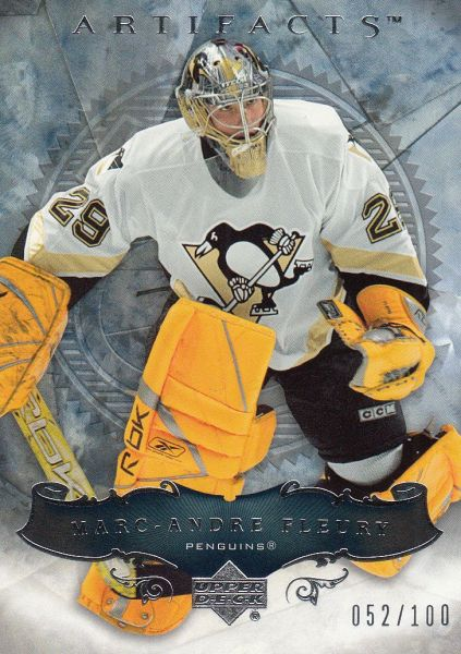 paralel karta MARC-ANDRE FLEURY 06-07 Artifacts Silver /100