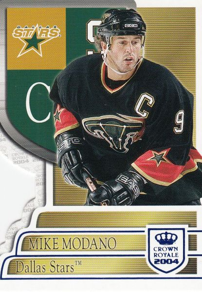 paralel karta MIKE MODANO 03-04 Crown Royale Blue /850