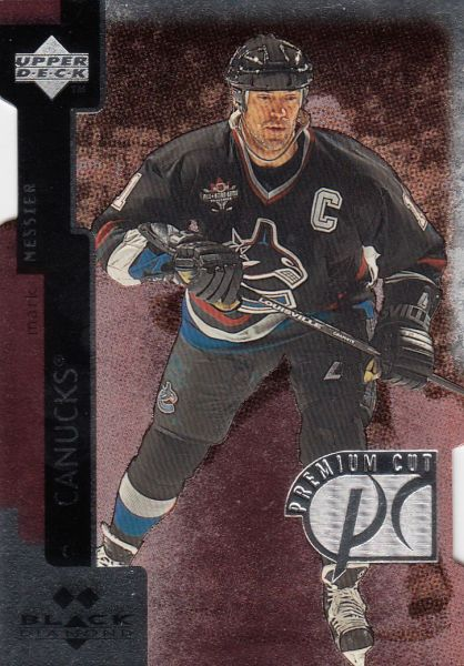 paralel karta MARK MESSIER 97-98 Black Diamond Premium Cut Double Diamond