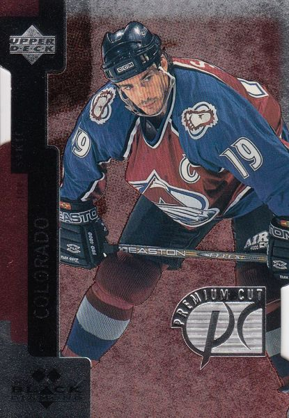 paralel karta JOE SAKIC 97-98 Black Diamond Premium Cut Double Diamond