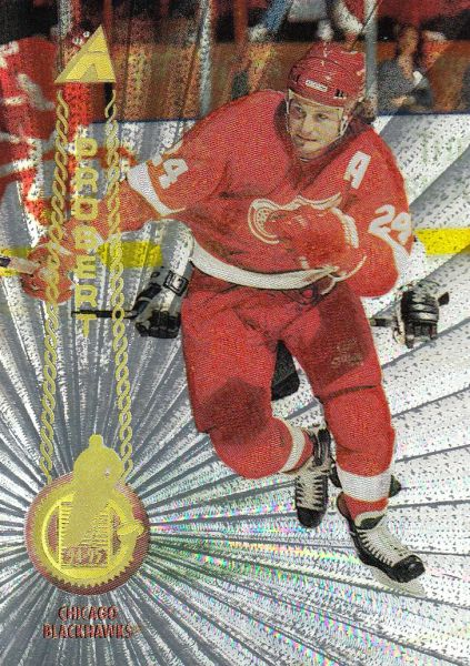 paralel karta BOB PROBERT 94-95 Pinnacle Rink Collection číslo 404