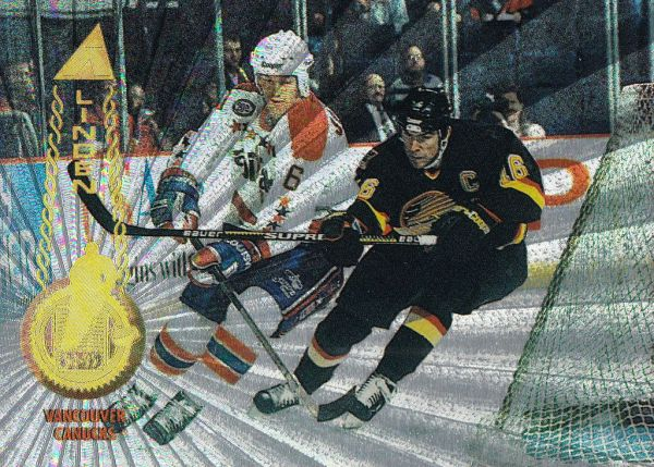 paralel karta TREVOR LINDEN 94-95 Pinnacle Rink Collection číslo 8