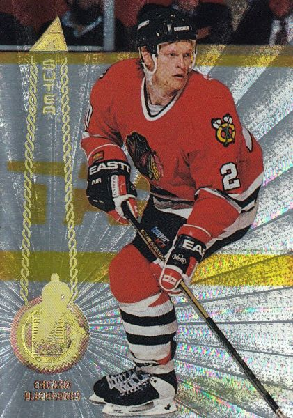 paralel karta GARY SUTER 94-95 Pinnacle Rink Collection číslo 137
