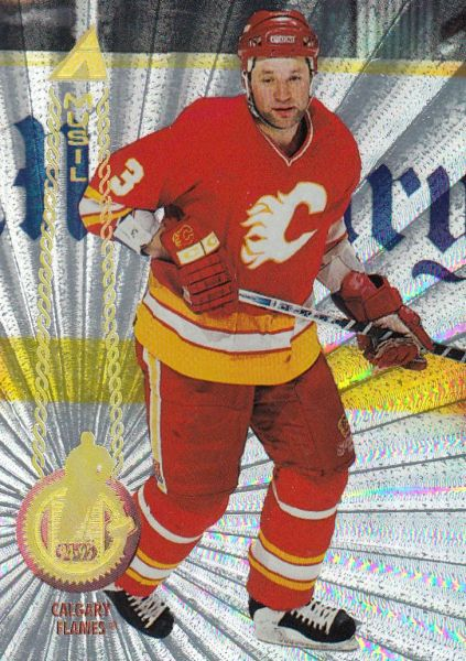 paralel karta FRANK MUSIL 94-95 Pinnacle Rink Collection číslo 64