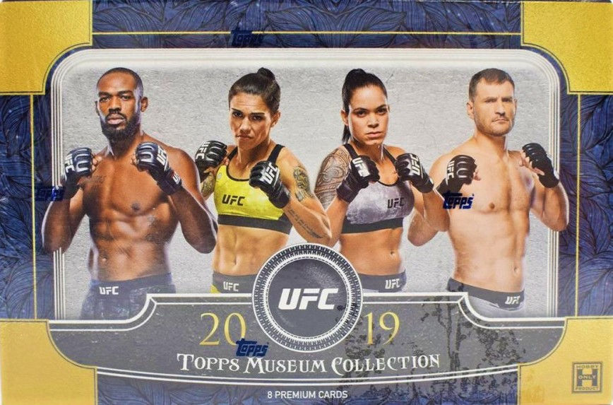 2018-19 Topps UFC Museum Collection Hobby Box