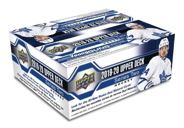 2019-20 UD Series 2 Hockey Retail Box