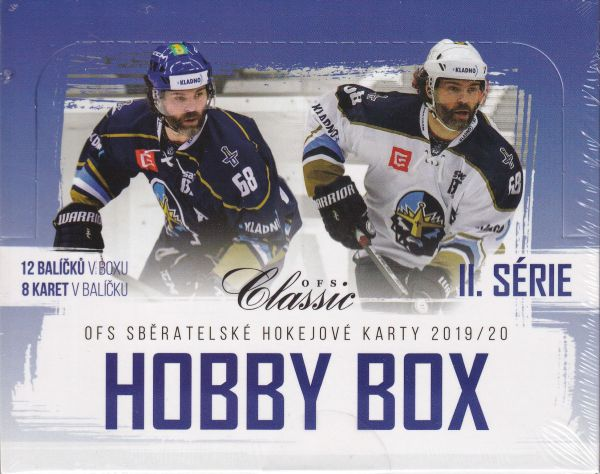 2019-20 OFS Classic Series 2 Hockey HOBBY Box + DÁREK