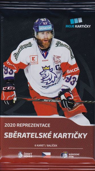 2019-20 MK Czech Ice Hockey Team Retail Balíček
