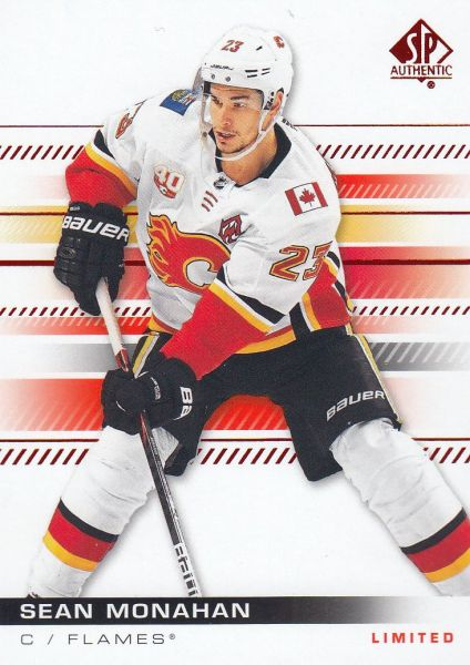 paralel karta SEAN MONAHAN 19-20 SP Authentic Limited Red číslo 7