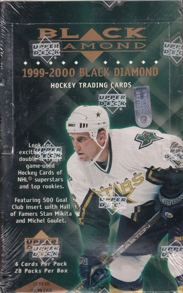 1999-00 UD Black Diamond Hockey Hobby Box
