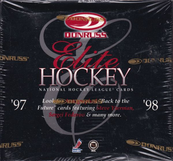 1997-98 Donruss Elite Hockey Box