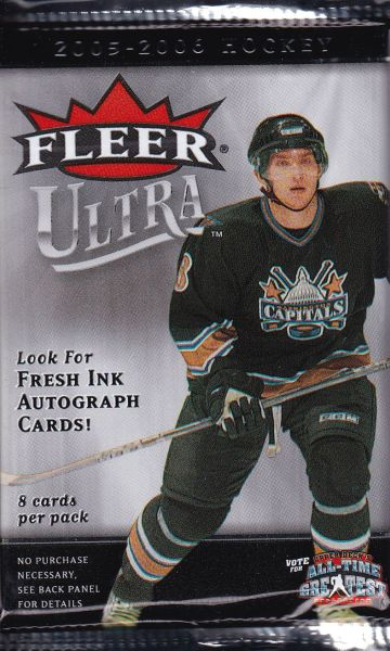 2005-06 UD Fleer Ultra Hockey Retail Balíček