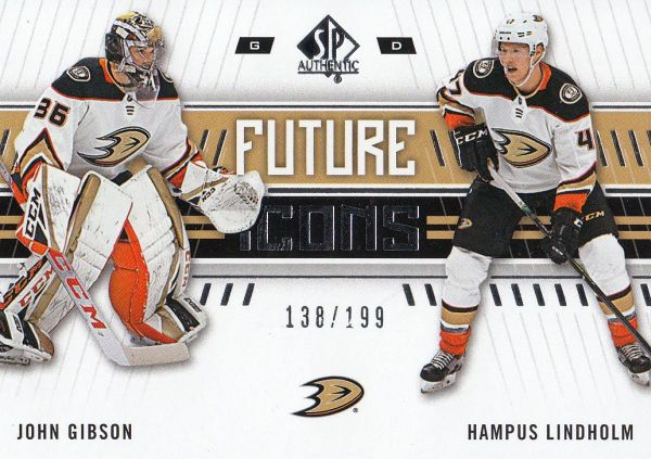 insert karta GIBSON/LINDHOLM 19-20 SP Authentic Future Icons /199