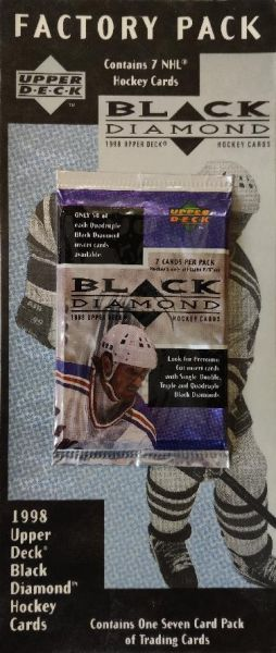 1997-98 UD Black Diamond Hockey Blister