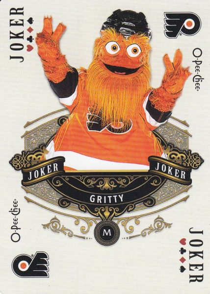 insert karta GRITTY 20-21 OPC Playing Cards